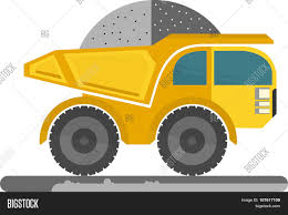 100 Big Yellow Truck Vector Photo Free Trial Stock