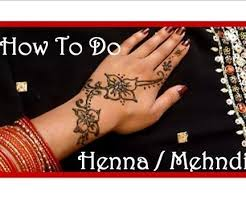 DIY Easy Henna Tattoo Tutorial And Aftercare