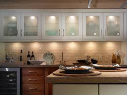 kitchen in cabinet lighting above cabinet lighting