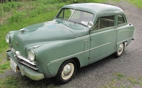 100 Crosley Truck 3156 Miles 1951 Super Sedan
