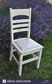 Old White Wooden Chair In Lavender Garden Stock Photo ... Front Porch Of House With White Rocking Chairs On Wooden Two Wood Rocking Chair Isolate Is On White Background With Indoor Chairs Grey Wooden Northbeam Acacia Outdoor Stock Image Yellow Fniture Club By Trex In Photo Free Trial Bigstock Small Old Toy Edit Now Karlory Porch Rocker 100 Pure Natural Solid Deck Patio Backyard Living Room Black Isolated