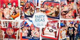 Wwe Raw Cake Decorations by Wwe Party Supplies Wwe Birthday Party City
