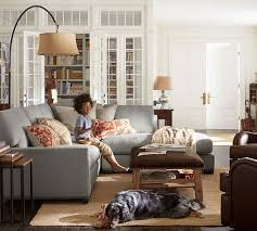 Curved Floor Lamp Next by Winslow Arc Sectional Floor Lamp Pottery Barn