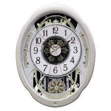 Moving Face Pendulum Wall Clock