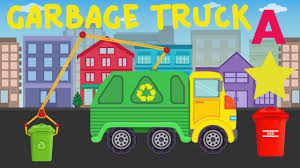 100 Trash Truck Video For Kids Garbage Learning Colors Shapes Abc On Garbage
