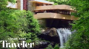 100 Water Fall House Inside Frank Lloyd Wrights Iconic Ingwater Cond Nast Traveler
