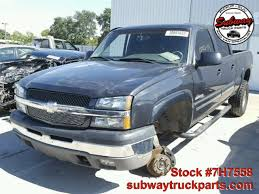 Used Parts 2003 Chevrolet Silverado 1500 6.0L 4x4 | Subway Truck ...