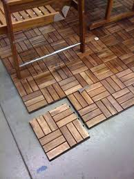 Interlock Floor Tiles Patio Floor Covering Wooden Floor Tiling