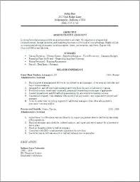 Secretary Resume Template Cv Examples Uk