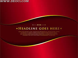 Vector Red Background Arc Poster Illustrator Design Template Material EPS File To Download
