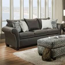 Nolana Charcoal Sofa Set by Sofas U0026 Loveseats Living Room Weekends Only Furniture U0026 Mattress