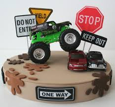 100 Monster Truck Decorations Cakes Decoration Ideas Little Birthday Cakes
