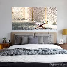 großhandel yct008 kreative blumenmuster kopfteil aufkleber pvc poster nacht vinyl aufkleber poster tapete schlafzimmer dekoration wasserdichte
