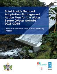 100 J Mountain St Lucia Saint S Sectoral Adaptation Rategy And Action Plan For The