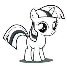 Pony Coloring Pages Elegant My Little For Images