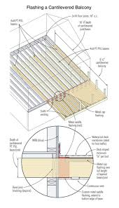 Floor Joist Size Residential by A Path To Safer Balconies Professional Deck Builder Structure