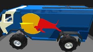 SimplePlanes | Kamaz Dakar Red Bull Truck