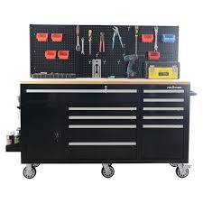 100 Service Truck Tool Drawers FRONTIER 62 Inch Heavy Duty Mobile Work Station Organizer