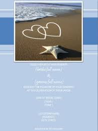 Beach Wedding Invitations Wording Ideas Elegantweddinginvites