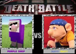 Purple Shep Vs Jeffy By Stickythefireband Daq3fm8