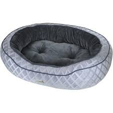 buy trustypup lazylove seat dog bed 38 x 26 grey in cheap