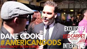 Dane Cook Interviewed At The Premiere Of Starz