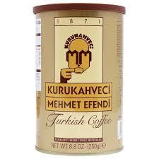 Kurukahveci Mehmet Efendi Turkish Coffee 88 Oz 250 G Yummy Bazaar