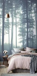 Bedroom Wallpaper Feature Wall Full Size Of Decoration Design Walls Murals Interior