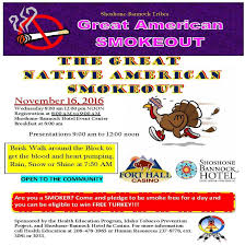 The Great Native American Smoke Out