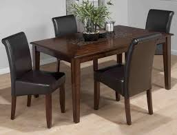 Jofran Baroque Brown Pub Table And Slat Back Chair Set Godby ...