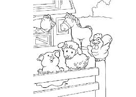 Cartoon Farm Animal Coloring Pages Pictures 392442 For Free 2015