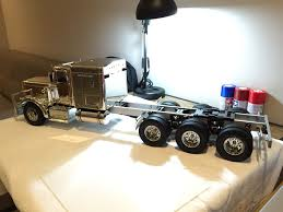 100 Radio Controlled Semi Trucks Tamiya Custom Stretched Chrome Edition King Hauler Triaxle Build