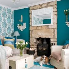 teal living room design ideas trendy interiors in a bold color