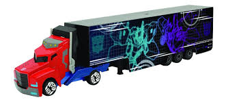 Transformers Die Cast Optimus Prime Truck And Trailer Toy ...