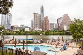 100 Austin City View AUSTIN USA APR 10 Hotel Pool And Of The Downtown