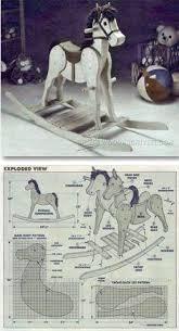 wooden rocking horse plans fine woodworking rocking horse