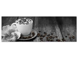 acrylglasbild wandbild glasbild für küche kaffeetasse