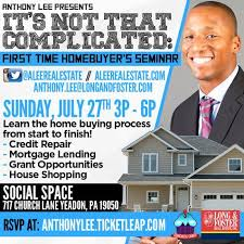 ITS NOT THAT COMPLICATED FIRST TIME HOME BUYERS SEMINAR