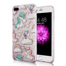 Cute Unicorn Phone Case For iPhone 5 5S SE 6 6s 6 6S Plus 7
