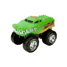 Wheelie Monsters Vehicle - Crocodile - Toys