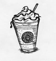Successful Starbucks Coloring Page How To Draw A Unicorn Frappuccino