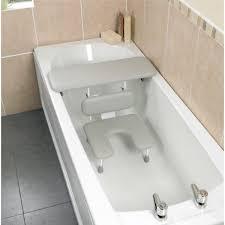 siege salle de bain combiné siège et planche de bain ascot homecraft adapté aux