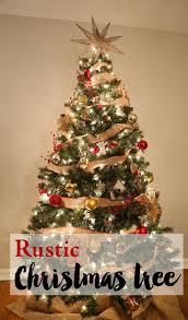 A Rustic Christmas Tree Weekend Craft