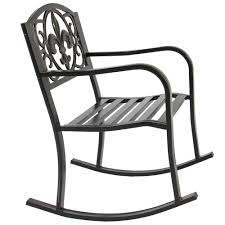 Patio Rocking Chair Outdoor Garden Furniture Metal Rocker Deck Yard ... Hampton Bay Black Wood Outdoor Rocking Chairit130828b The Home Depot Garden Tasures Chair With Slat Seat At Lowescom Amazoncom Casart Indoor Wooden Porch Chairs Lowes White Patio Wicker Rocker Wido 3 Piece Set 2 X Black Rocking Chair And Table Garden Patio Pool Ebay Graphics Of Imposing Walmart Recliner Sale Highwood Usa Lehigh Recycled Plastic Inoutdoor 3pc Set With Cushion Shop Intertional Concepts