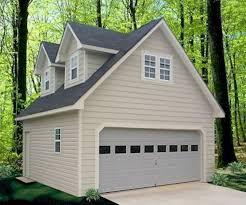 Garage Fabulous garage with apartement design Detached Garage