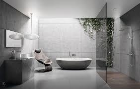 badezimmer ideen moderne badgestaltung in grau designer