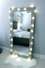 lighted makeup mirror wall mount accessories vanity tray mirrored