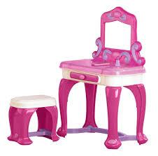 Kidkraft Deluxe Vanity And Chair Set by Girls U0027 Vanity Sets Toys