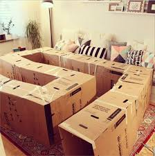 How To Make A Wooden Toy Box by Best 25 Cardboard Box Houses Ideas On Pinterest Cardboard Boxes