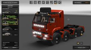 100 Monster Truck Simulator KAMAZ 8X8 MONSTER UPDATE 1203 V11 Euro